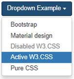 Dropdown & Dropup - TutorialAndExample