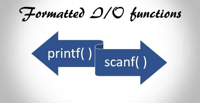 C printf and Scanf Function