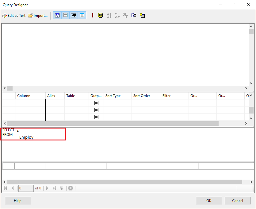Create a Tablix report 11