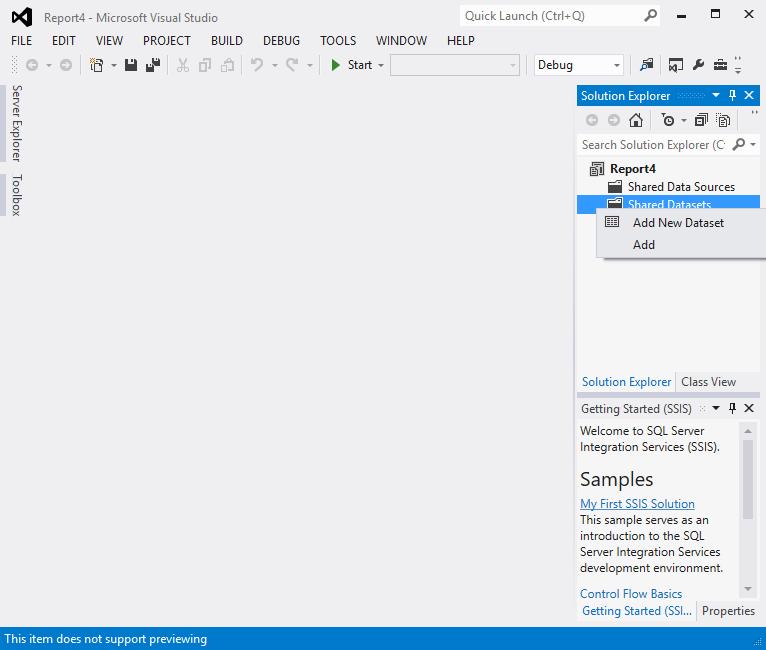 Create a Tablix report 6