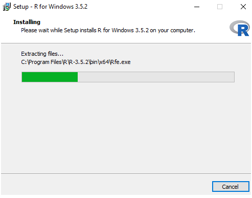 Installing R On Windows