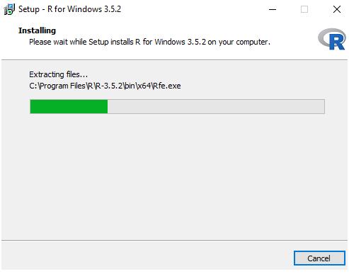 Installing R Programming