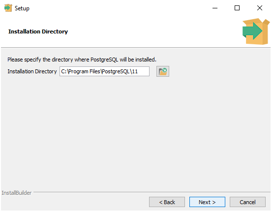 PostgreSQL Installation Directory | TutorialandExample