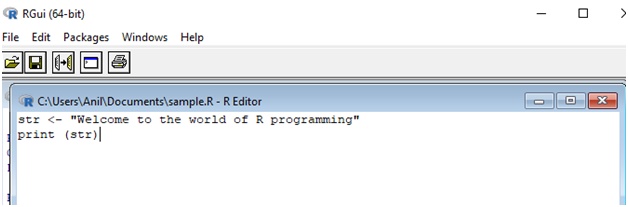 Welcome to R Programming