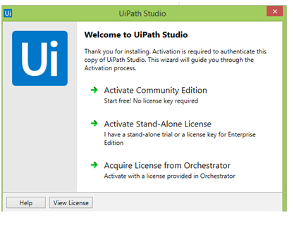 Welcome to UiPath Studio