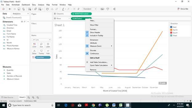 How to Create Tableau Bump Chart?