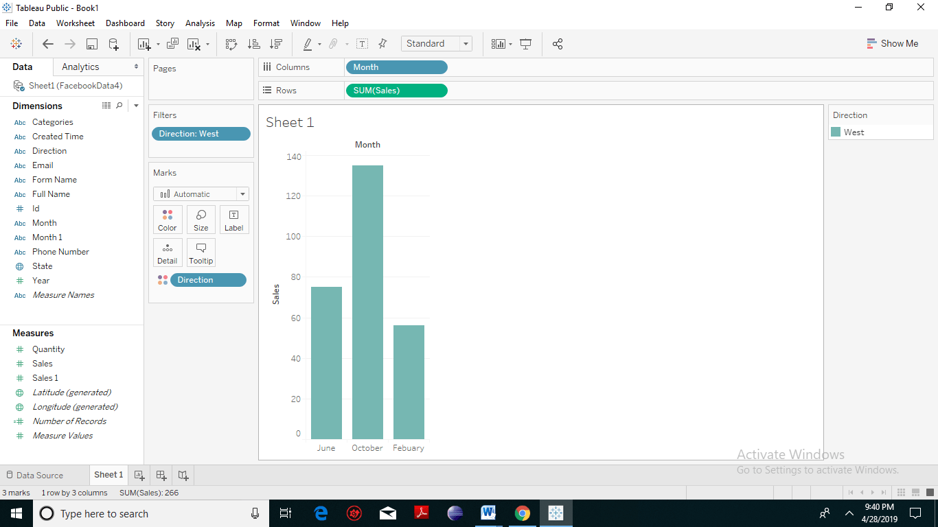 Tableau Filter Introduction 3