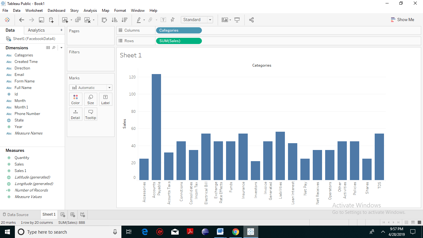 Tableau Filter Introduction 4