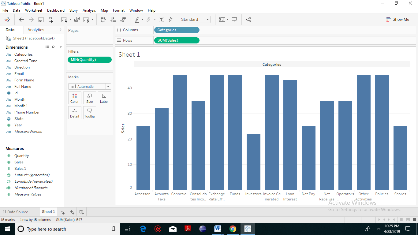 Tableau Filter Introduction 6