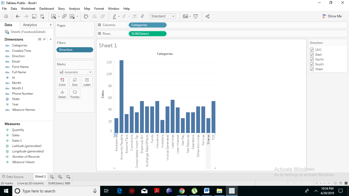 Tableau Quick Filters 4