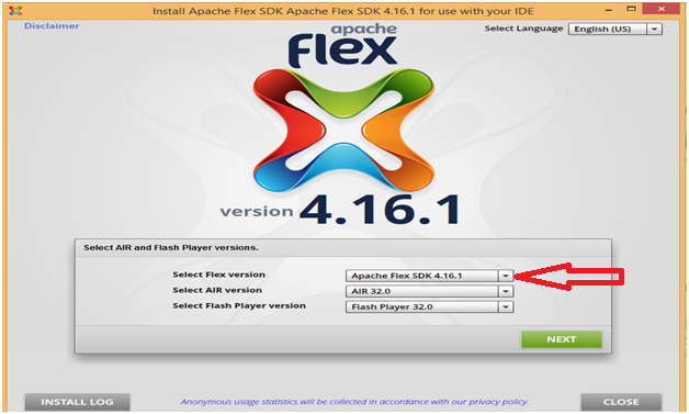 Apache flex Step 5