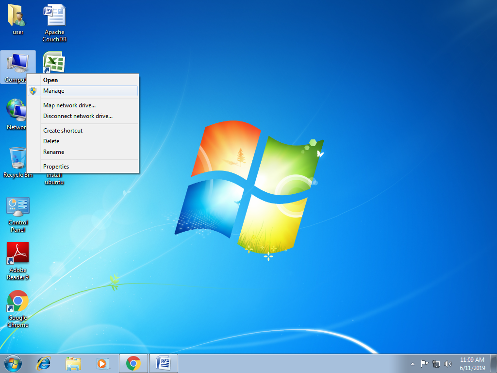 Make some space for Linux partition on your system
