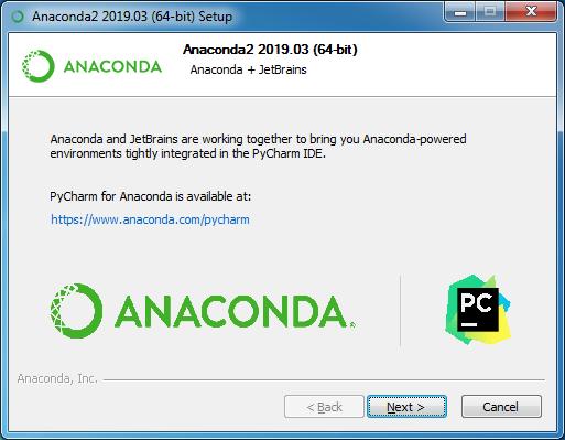 installing anaconda step 12