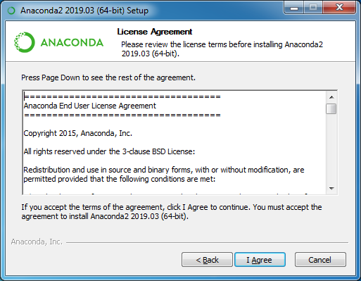 installing anaconda step 6