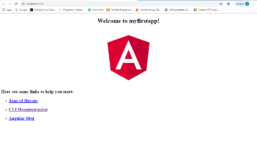 Welcome to Angular 8 Application