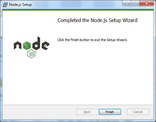 Complete Installing Node Js