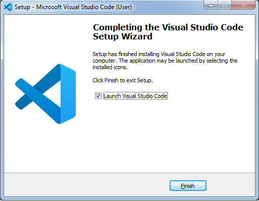 Finish Visual Studio