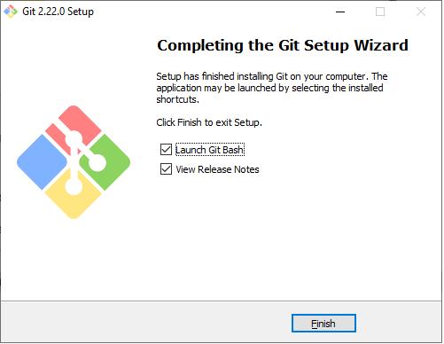 Git set up wizard