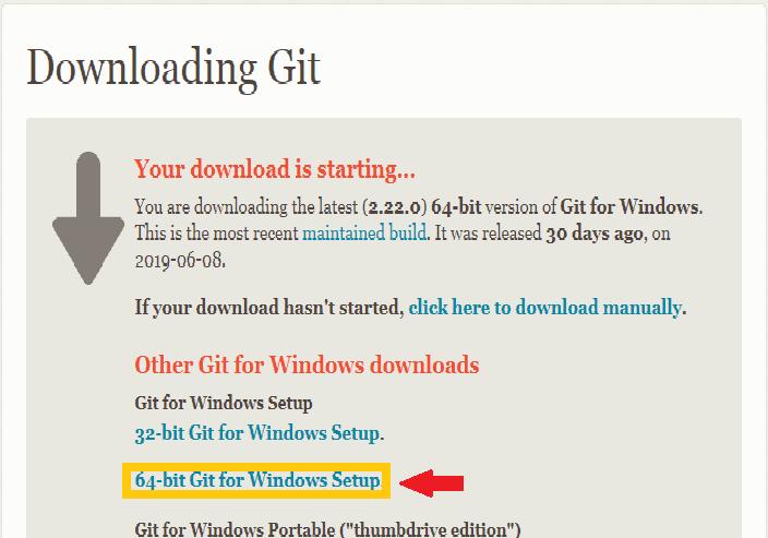 Installation Guide Git on Windows 2