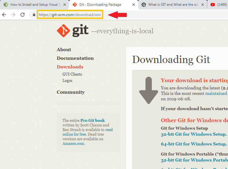 Installation Guide Git on Windows Step by Step 1