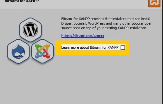 Installation Guides  XAMPP Step 8