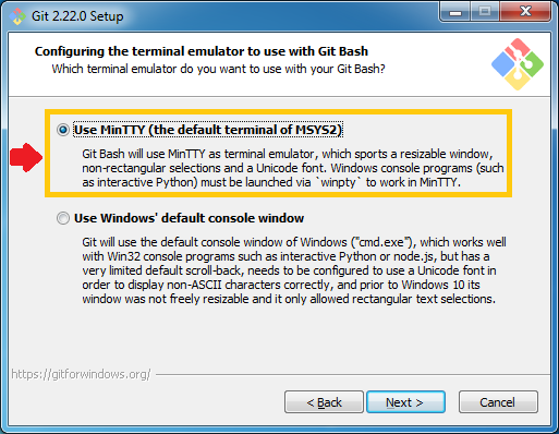 Installation Guides  to Git on Windows Step by step 11