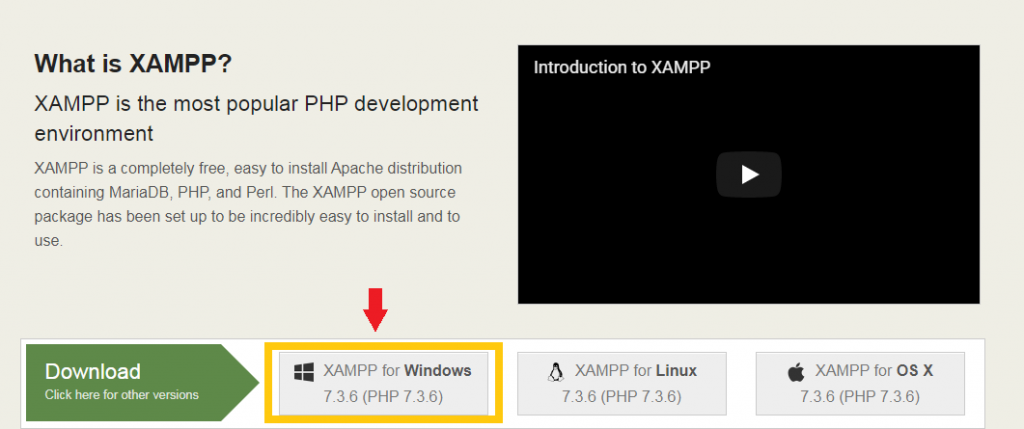Installation Guides  to XAMPP Step 2