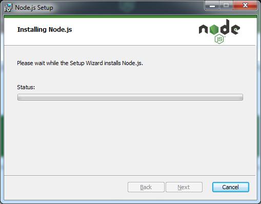 Installing Node Js