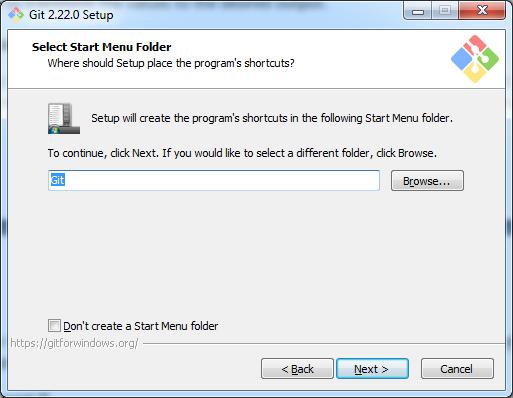 Select Menu Folder