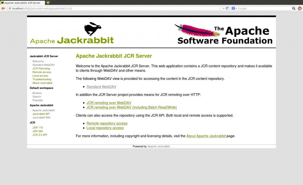 apache jackrabbit 7