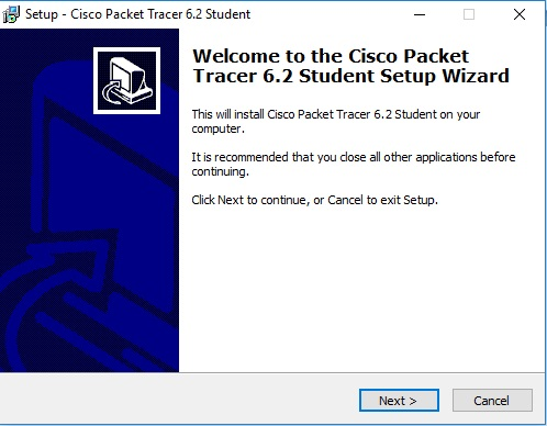 download and install the cisco packet tracer3