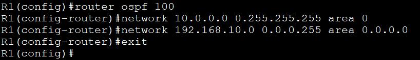 Configuring OSPF 4