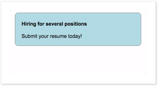 Hiring for Several position