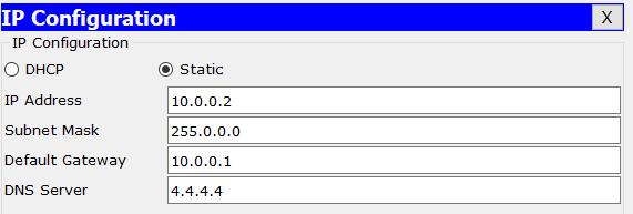 IP Configuration