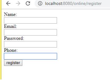 Web Application Example with Hibernate