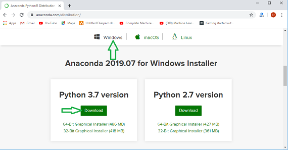 python-anaconda setup-in-machine-learning-3