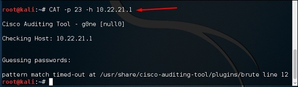 Cisco Auditing Tool