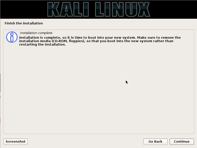 Kali Linux Installation Guides step15