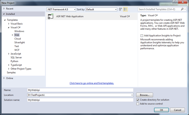 Open Visual Studio
