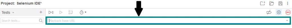 base URL address bar also remembers