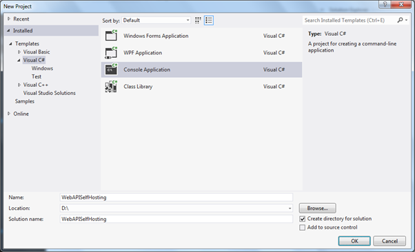open Visual Studio in Administration mode.