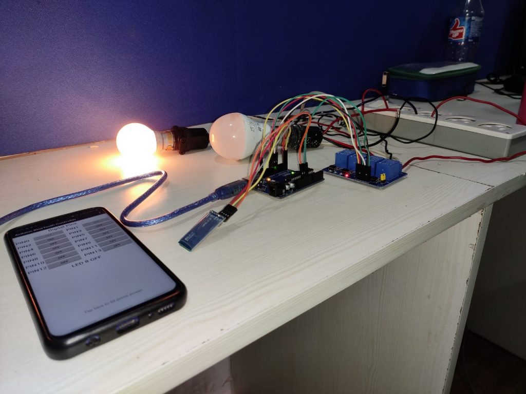 Arduino UNO Home Automation 12