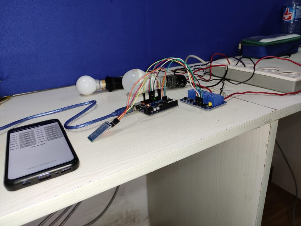 Arduino UNO Home Automation 16