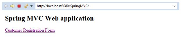Spring MVC Form Custom Validation 1
