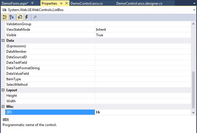 ASP .Net Controls15