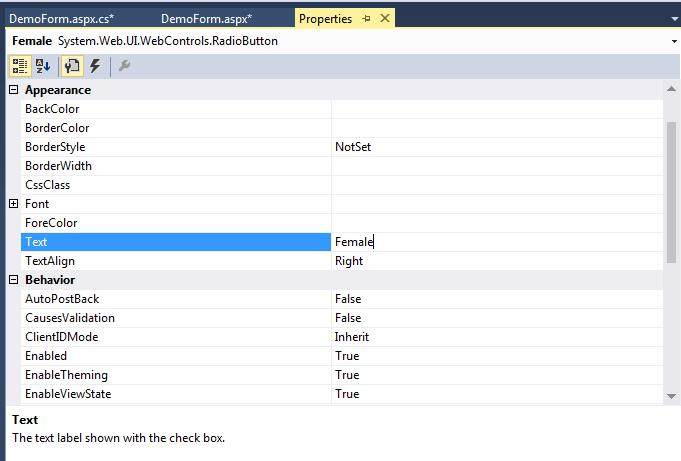 ASP .Net Controls18
