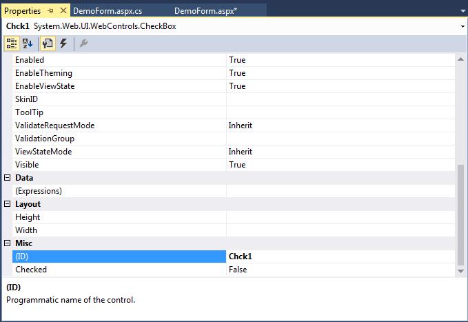 ASP .Net Controls22