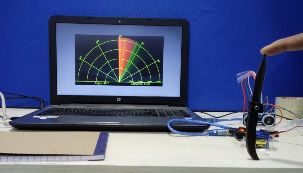 Arduino UNO Radar Project