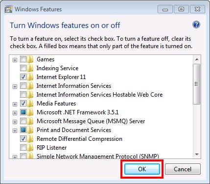 Configuration of .NET Framework6