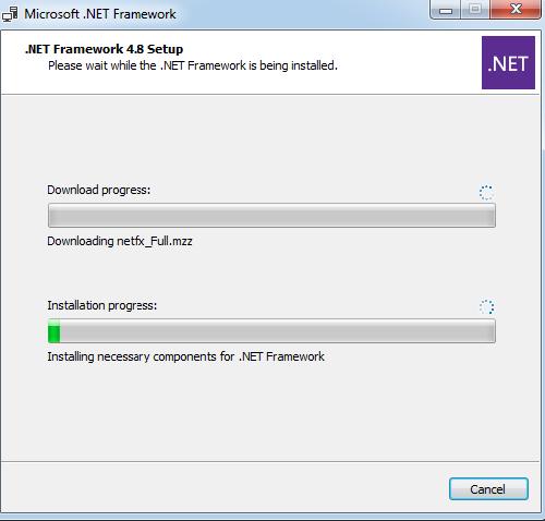 Configuration of .NET Framework9